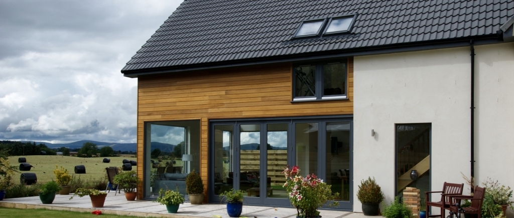 New Build at Cleish, Perthshire